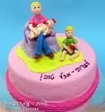 עוגה לעדית - בת 30 ויש לה תינוקת חמודה...