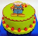 בוב הבנאי - עוגה אישית