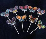 סוכריות פרפרים - צבועות בצע מאכל