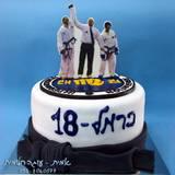 עוגת טאיקוונדו - לכרמל שזכה במקום שלישי בעולם!! כל הכבוד!