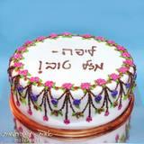 עוגה בסגנון התכשיטים של מיכל נגרין