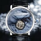 Cartier Rotonde Crocodile Cameo Tourbillon