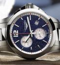 Longines Conquest Chronograph by Mikaela Shiffrin
