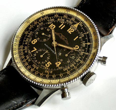 a1bcf3a1c5e Breitling Navitimer from 1954 one of the first movement Venus 178. Although  the model was announced in 1952 Only in 1954 it was go to