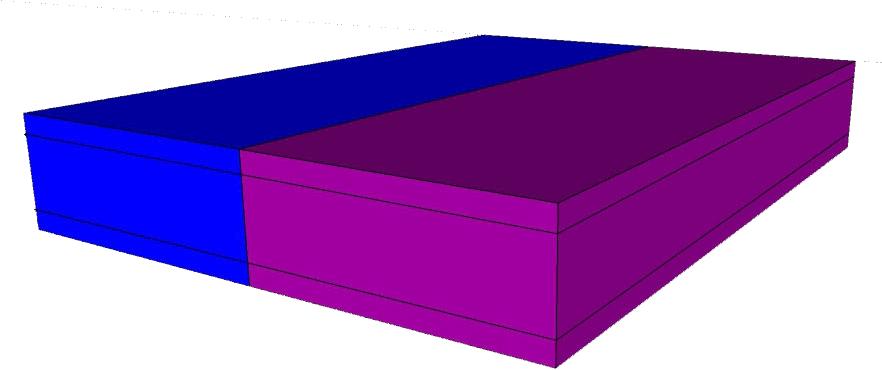 מדהים sfog - מזרן חצי חצי ספוג כחול וספוג סגול XX-92