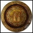 Museum quality Bezalel Plate