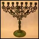 Zadikow Hanukkah Lamp