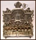 Antique Austrian Chanukah Lamp