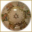 Capodimonte Seder Passover Plate