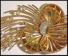 18 Karat Spray Brooch