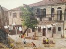 Oil on Canvas Batei Ungarin Jerusalem