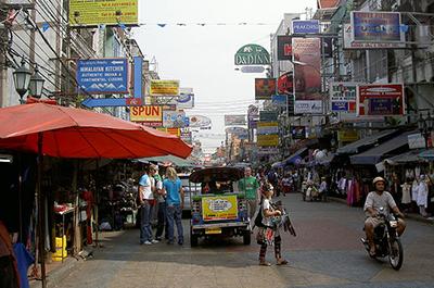רחוב קאו סאן | Thanon Khao San