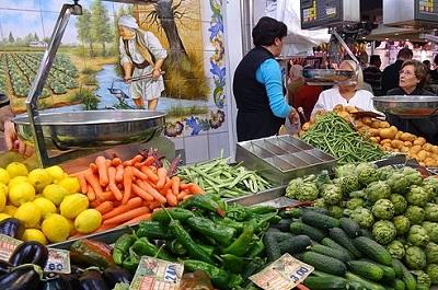 השוק המרכזי - Mercado Central