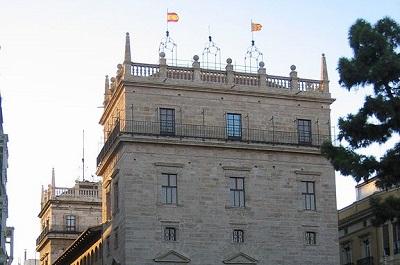 ארמון הממשל המחוזי של ולנסיה - el palacio de la generalitat