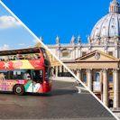 כרטיס משולב למוזיאון הותיקן ואוטובוס התיירים