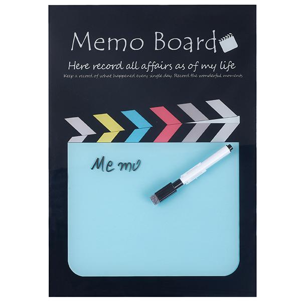 לוח הודעות זכוכית עם טוש מחיק BM5006