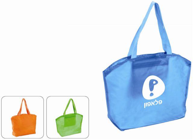תיק PVC לכנסים לים ולקניות עם כיס פנימי BM1151
