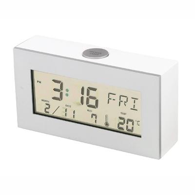 שעון תאריכון הופך למראה בלחיצת כפתור BM5365