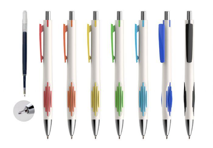 עט חוד מחט בעיצוב חדיש עם מילוי ג'ל ענק  BM9535