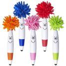 עט פלסטיק קומי עם שיער לניקוי מסכי מגע + כרית טאץ BM5254