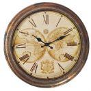 שעון קיר מפת עולם BM5345