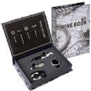 מארז אביזרים 4 חלקים ליין באריזת מתנה מעוצבת בצורת ספר BM6942