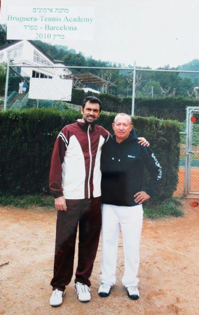משה גורן - אליפויות טניס
