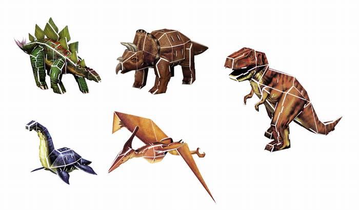 פאזל תלת מימד -סדרת דינוזאורים