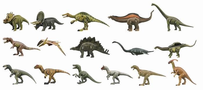 פאזל תלת מימד -סדרת דינוזאורים - העולם האבוד