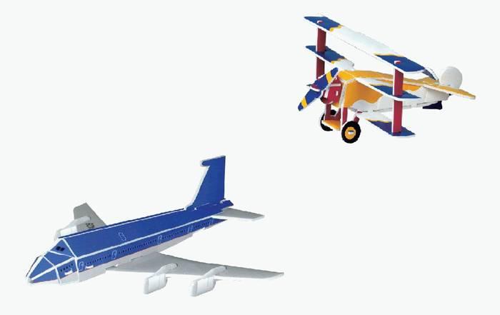 פאזל תלת מימד -מטוסים דגמים G&H