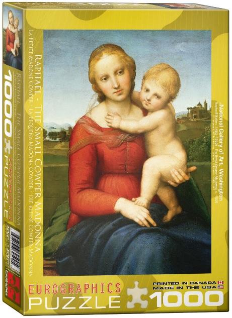 פאזל 1000 חלקים -רפאל - The small Cawper Madonna