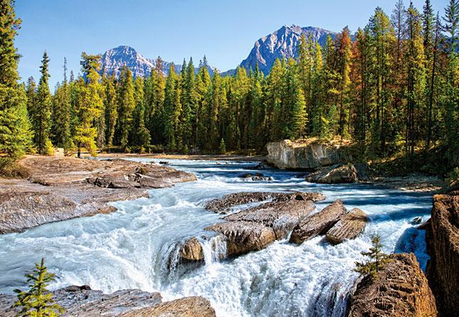 פאזל 1500 חלקים - נהר אטבסקה בקנדה