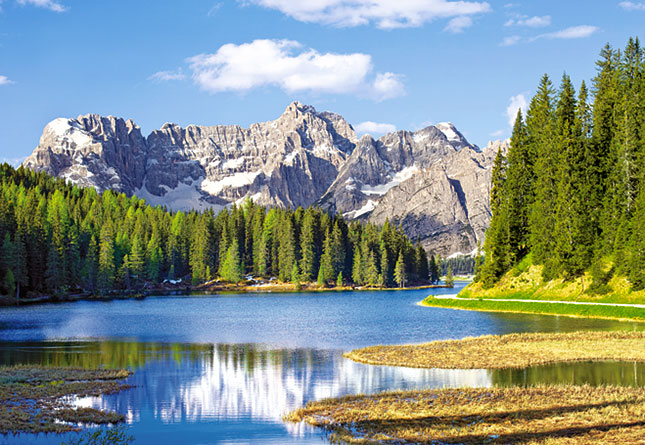 פאזל 3000 חלקים - אגם מיסורינה , איטליה