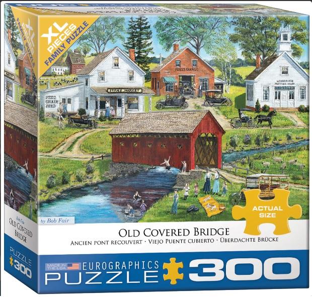 פאזל 300 חלקים - הגשר המכוסה הישן