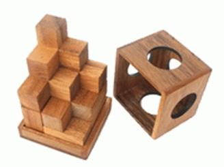 משחק חשיבה -  קוביית סומה