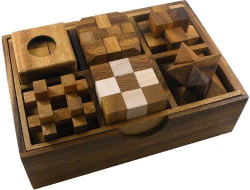 סט של 6 משחקי חשיבה