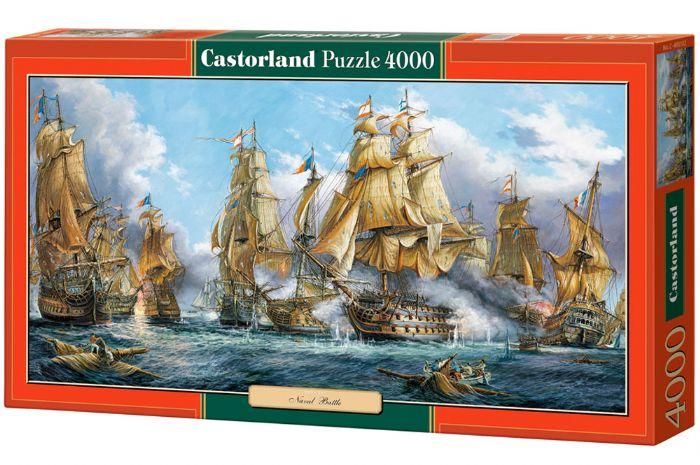 פאזל 4000 חלקים - דו קרב בין ספינות