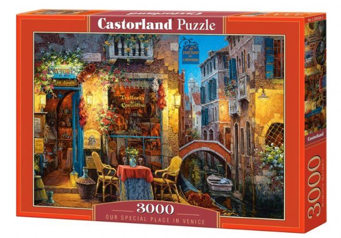 פאזל 3000 חלקים - המקום המיוחד שלנו בונציה