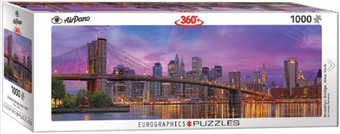 פאזל פנורמי 1000 חלקים - גשר ברוקלין