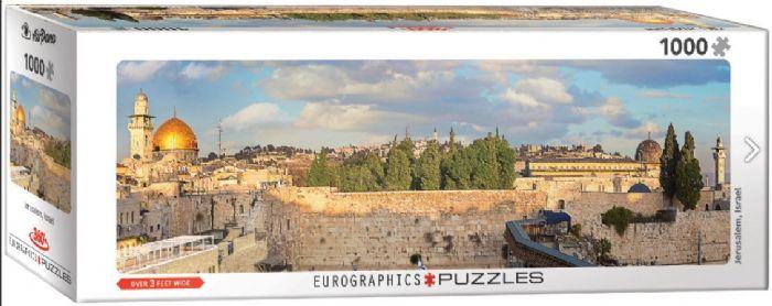 פאזל פנורמי 1000 חלקים - ירושלים