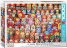 פאזל 1000 חלקים -אוסף בובות מטריושקה