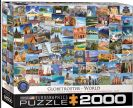 פאזל 2000 חלקים - מקומות מהעולם