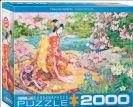 פאזל 2000 חלקים - ציור יפני - הארו נו אוטה