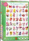פאזל 1000 חלקים - שפת הפרחים