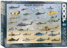 פאזל 1000 חלקים - הליקופטרים צבאיים