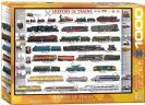 פאזל 1000 חלקים - היסטוריה של רכבות