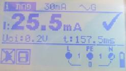 בדיקת חשמל בממסר פחת תקין