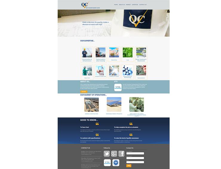 עיצוב ובניית אתר VQC