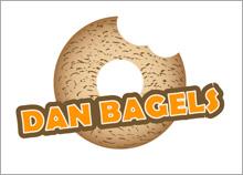 דן בייגלס - בניית לוגו לשלט מאפייה
