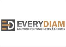 EVERY DIAM - עיצוב לוגו חברת יהלומים בנוסף עיצבנו